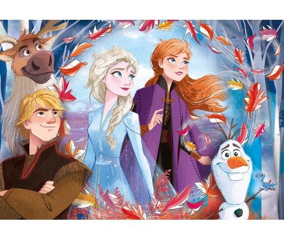 Disney frozen 2 60 pezzi supercolor puzzle o71lsxq