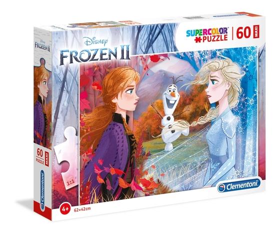 Disney frozen 2 60 pezzi supercolor puzzle syufsyl
