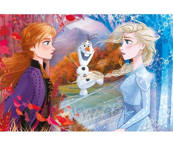 Disney frozen 2 60 pezzi supercolor puzzle qrnb6vl