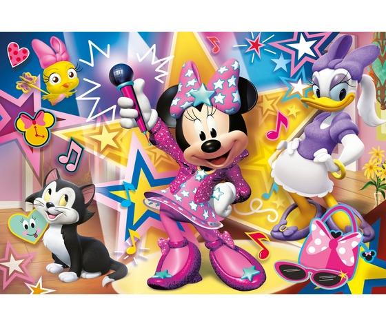 Disney minnie 60 pezzi supercolor puzzle fc5j40q