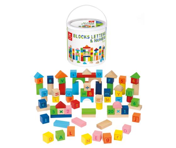 Blocks lettere e numeri
