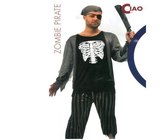 Hw pirata zombie uomo