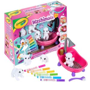 washimals set attività crayola