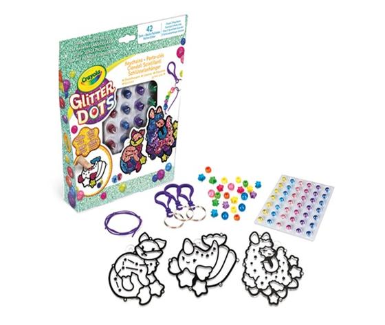 Crayola glitter dots 2