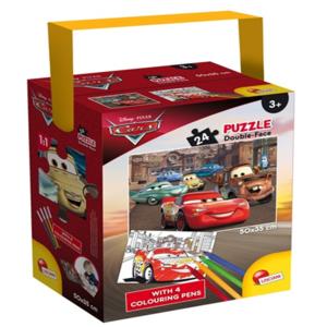 puzzle in a tube mini cars 24 pezzi lisciani