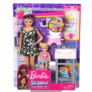 barbie babysitter skipper