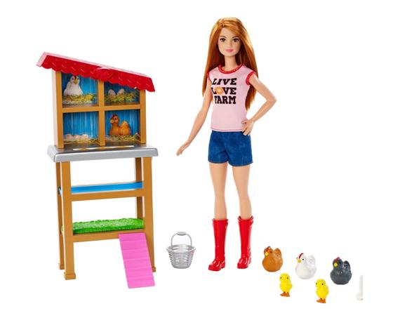 Barbie cariere fattoria dei polli fxp15