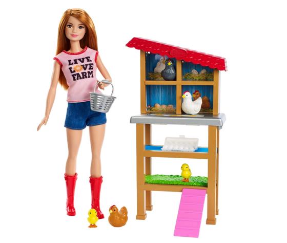 Barbie cariere fattoria dei polli2