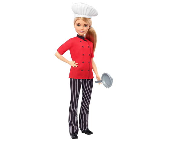 Barbie carriere chef
