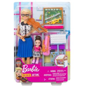 barbie carriere insegnante di musica