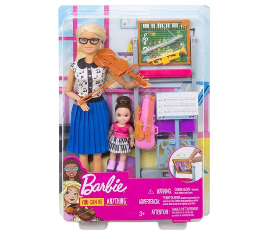 Barbie carriere insegnante di musica fxp18