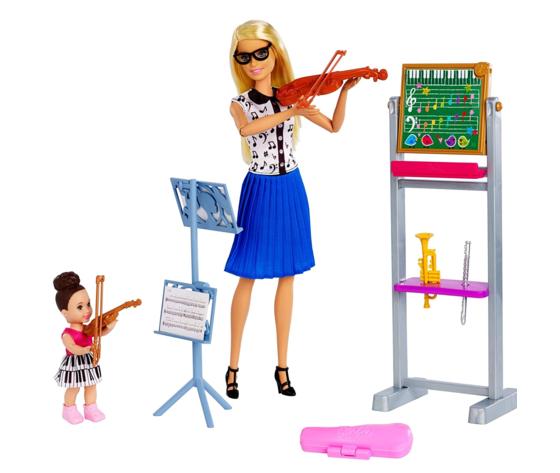 Barbie carriere insegnante di musica fxp18 2
