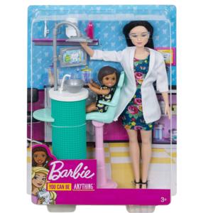 barbie carriere playset dentista