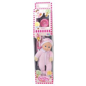 bambola con passeggino bambolina