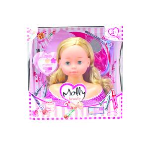 testa di bambola da pettinare bambolina