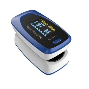 Pulsossimetro portatile da dito con indice di perfusione e allarmi