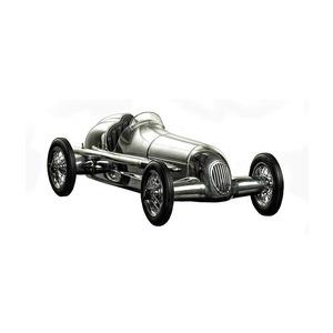 Auto Silberpfeil in Alluminio - Sedile Marrone