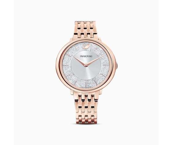 Orologio crystalline chic  bracciale di metallo  tono oro rosa  pvd oro rosa swarovski 5544590 01