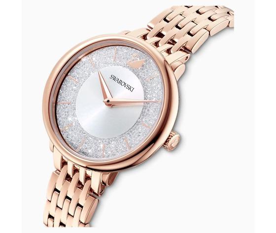Orologio crystalline chic  bracciale di metallo  tono oro rosa  pvd oro rosa swarovski 5544590 03