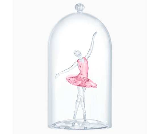 Campana di vetro con ballerina swarovski 5428649