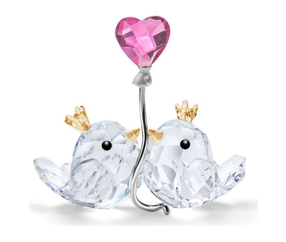 Inseparabili  cuore rosa swarovski 5492226