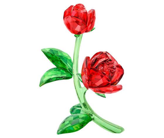 Rosa rossa swarovski 5424466