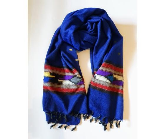 003sni sciarpa lana navajo inchiostro