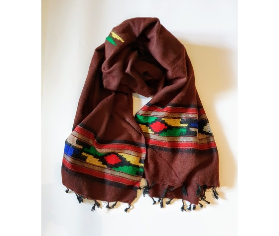 003snr sciarpa lana navajo bruciato