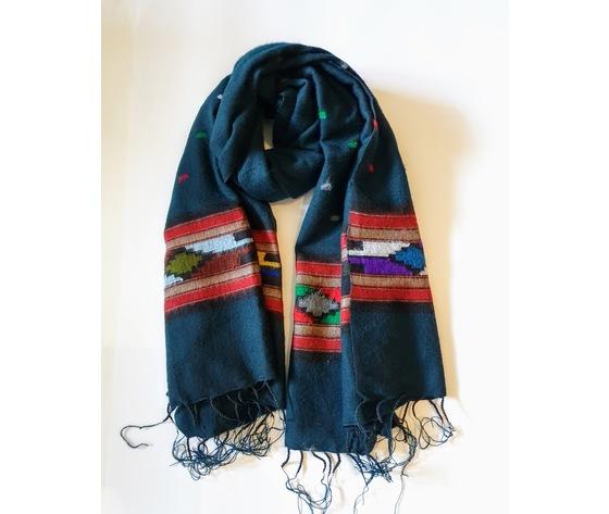 003snv sciarpa lana navajo verdone