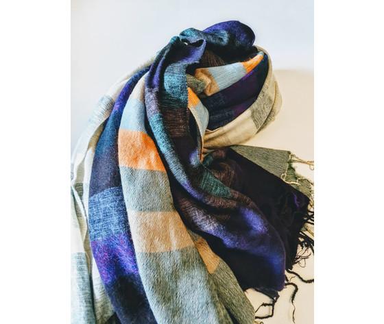 003s sciarpa lana righe 600
