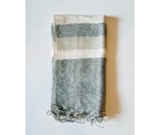 004srg sciarpa lana righe grigio