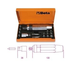 Giravite a percussione con 14 inserti e bussola portainserti BETA 1295/C14 012950108
