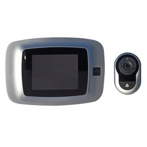 Spioncino Digitale di Sicurezza con Raggi Infrarossi IBFM 1672/SC