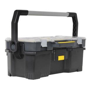 """Cassetta porta utensili 24"""" con organizer separabile STANLEY TOP EDGE 1-97-514"""