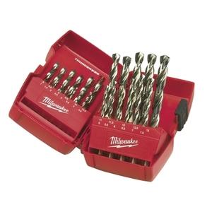 Cassetta di plastica 25 pezzi punte metallo THUNDERWEB HSS- G - DIN 338 MILWAUKEE cod. 4932352376