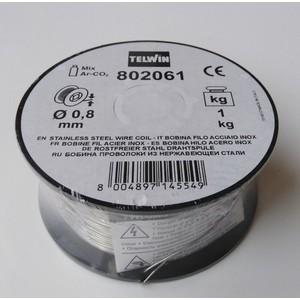 Bobina filo acciaio inox 0,8mm 1 Kg TELWIN 802061