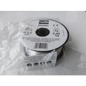 Bobina filo alluminio 0,8mm 0,45 Kg TELWIN 802062
