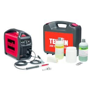 Sistema per la pulizia delle parti saldate in TIG e MIG su acciaio inox TELWIN CLEANTECH 200 230V con KIT cod. 850020