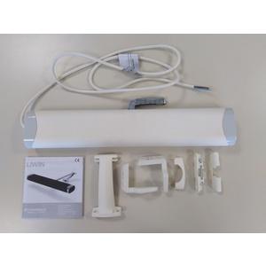 Attuatore a catena 350N radiocomandato COMUNELLO LIWIN  L35-230V RADIO BIANCO cod. ML35R140H0W00
