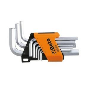 Serie chiavi a brugola 9pz BETA 96/SC9 cod. 000960374
