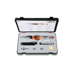 Saldatore a gas con 7 accessori in valigetta BETA 1827/K cod. 018270100