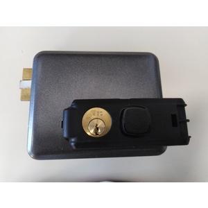 Elettroserratura SX da applicare per cancelli e portoni in ferro ISEO SERIE 5 cod. 53N5152