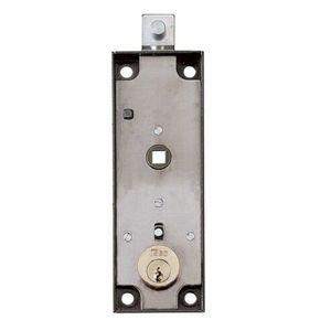 Serratura cilindro tondo e quadro per porte-serrande basculanti per garage ISEO cod. 643150