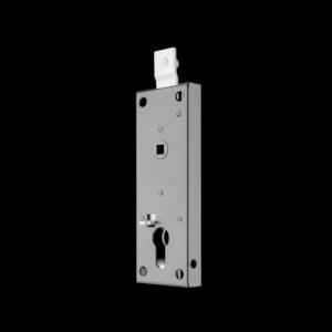 Serratura cilindro europeo e quadro per porte-serrande basculanti per garage ISEO cod. 646000