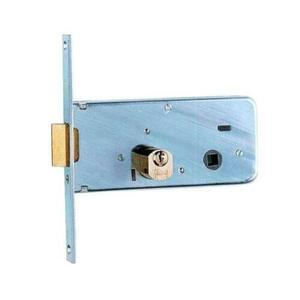 Serratura per fascia frontale zincato cilindro tondo sfaccettato ISEO 712702