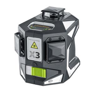 Livella Laser a linee 3D 360° LASERLINER X3 LASER PRO 036.800L