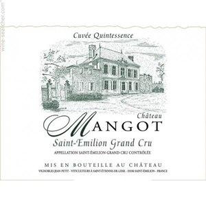 Château Mangot - Mangot Cuvée Quintessence Grand Cru 2003