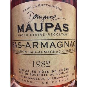 Domaine de Maupas - Bas-Armagnac 1982 0,5L