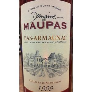 Domaine de Maupas Bas-Armagnac 1999
