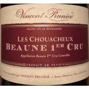 """Domaine Vincent Prunier - Beaune 1er Cru """"Les Chouacheux"""" 2018"""